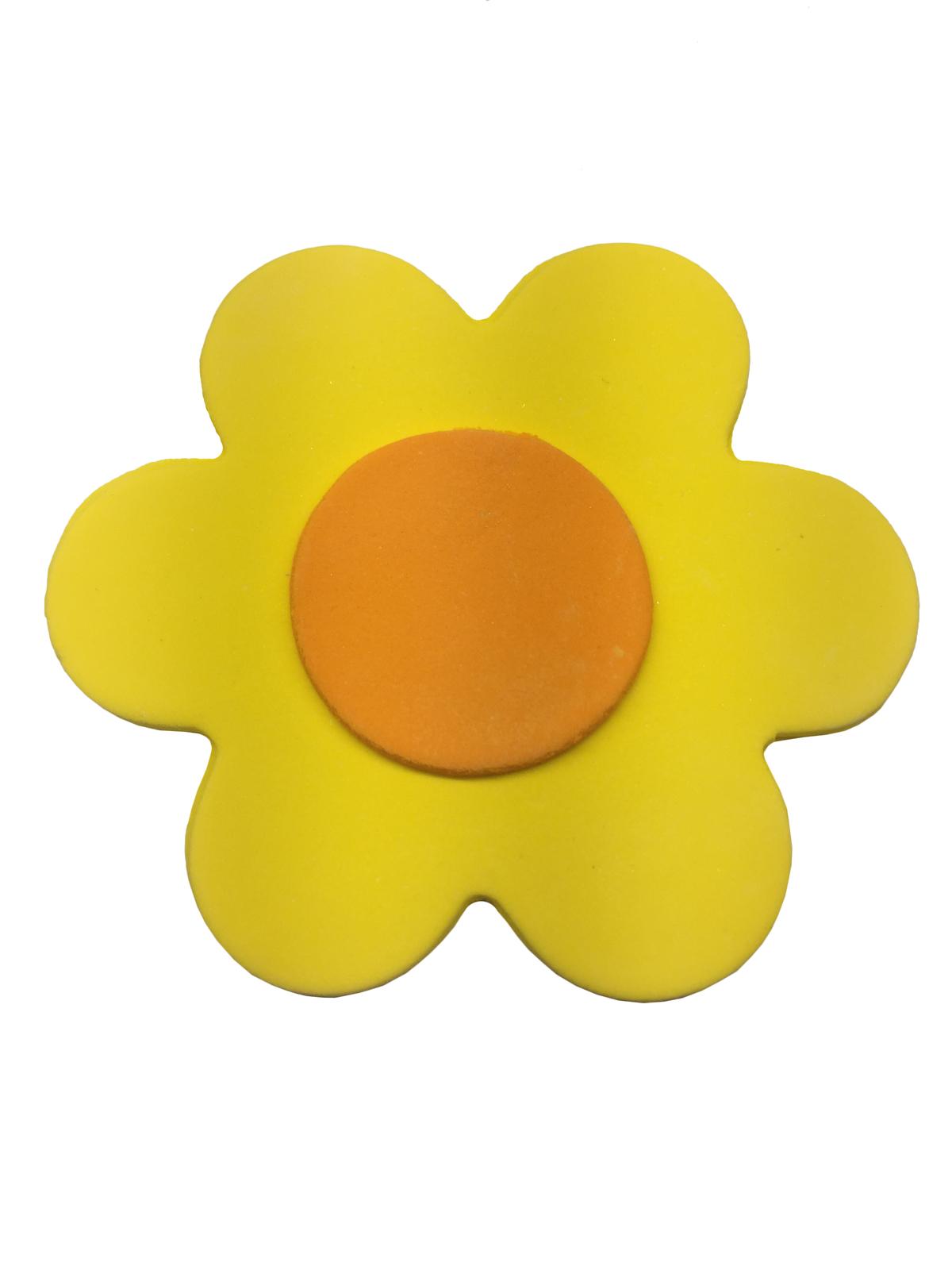 Gumpaste Flat Bright Flower Small Yellow Kitchen Domain
