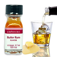 LorAnn Flavour Oil Butter Rum - 3.7ml