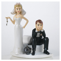 Wilton Ball And Chain Cake Topper