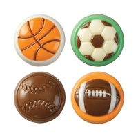 Wilton Candy Mold- Sports 8 Cavity