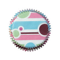 Bubble Stripe Mini Baking Cup