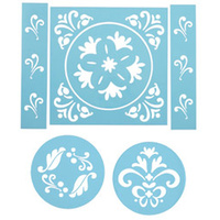 Wilton Traditional Stencil 6 pc