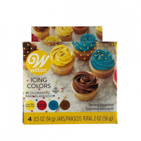 Wilton Primary Colours 4pc Gel Set