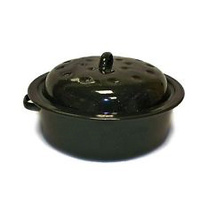 Grosvenor Vitreous Enamel Roaster 24cm