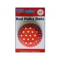 Red Polka Dots Std Baking Cups