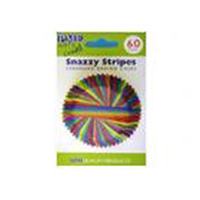 PME Snazzy Stripes Std Cupcake Cases