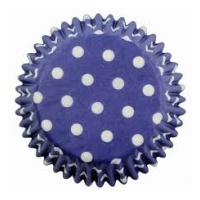 Blue Polka Dot Std Cupcake