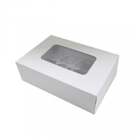 Display Cupcake Box With Insert - Standard - 12