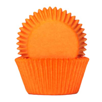 ORANGE BAKING CUPS 4CM - 100 PACK