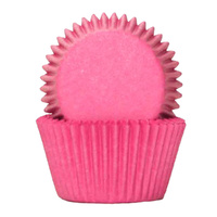 LOLLY PINK BAKING CUPS 4CM - 100 PACK