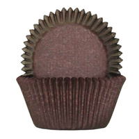 CHOCOLATE BAKING CUPS 5.5CM - 100 PACK