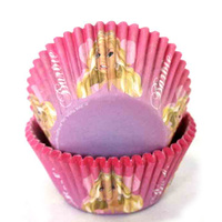 BARBIE MUFFIN CUPS TUB 50 PACK