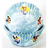 DISNEY PRINCESS MUFFIN CUPS TUB 50 PACK