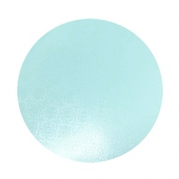 Cake Board Blue 8 Inch Round 6mm