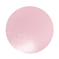 Cake Board Pink 8 Inch Round 6mm