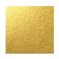 16 Inch Square Gold 6mm Cake Board