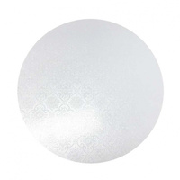 MDF Cake Board White 6 Inch Round 6mm