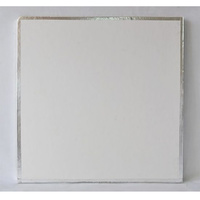 Cake Board Square Taped Edge - 10 Inch