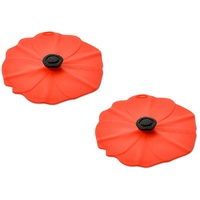 CHARLES VIANCIN POPPY SMALL DRINK LID SET OF 2