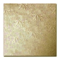 Gobake Cake Card Square 3mm Gold - 15 Inch