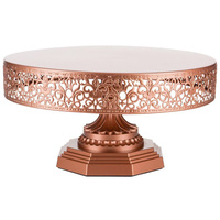 VICTORIA COLLECTION 12 INCH/30CM CAKE STAND - ROSE GOLD