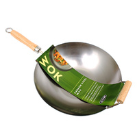 Carbon Steel Stir Fry Pan - 27cm