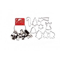 Xmas Cookie Cutter Set on a Ring