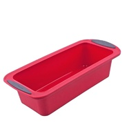 Silicone Loaf Pan 24cm  Red