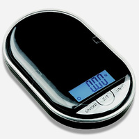Pocket Digital Scale 0.02g/200g - Black