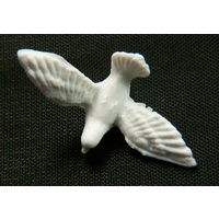 15mm Dove, white