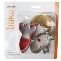 DEXAM SPACE EXPLORER COOKIE CUTTER SET