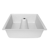 Fat Daddios Angel Food Pan Square - 10 Inch