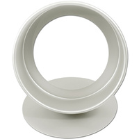 Fat Daddio's Round Cake Pan 3x10 Inch (Removeable Bottom)