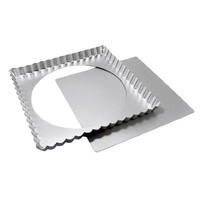 Fat Daddios Square Tart Pan - 9 Inch