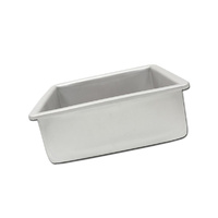 Fat Daddios Square Cake Tin - 4 X 3 Inch