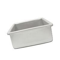 Fat Daddios Square Cake Tin - 4 X 4 Inch