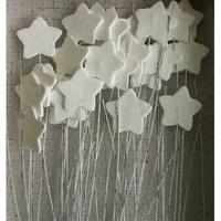 ICING STARS ON WIRE 30MM