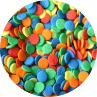 Jumbo Confetti Sprinkle Shapes