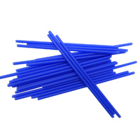 Lollipop Sticks Blue Long 150mm - 25 Pack