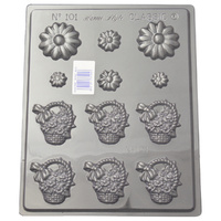 Home Style Chocolates Daisy Basket Chocolate Mould