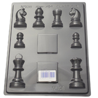 Home Style Chocolates Chess Set Chocolate Mould