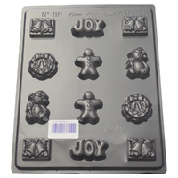Home Style Chocolates Xmas Joy Chocolate Mould