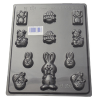 Home Style Chocolates Bunny Variety Chocolate Mould