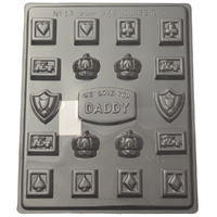 Home Style Chocolates We Love Dad Chocolate Mould