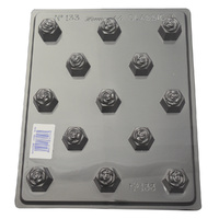 Home Style Chocolates Rose Deep Hexagons Chocolate Mould