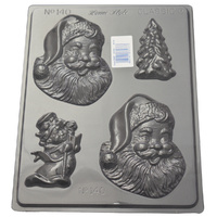 Home Style Chocolates Christmas Happy Santa Chocolate Mould