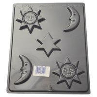 Home Style Chocolates Sun Moon Star Chocolate Mould