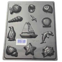 Home Style Chocolates The Seaside Chocolate Mould