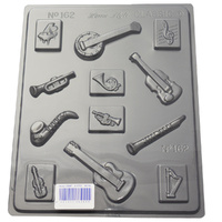 Home Style Chocolates Musical Instruments Chocolate Mould