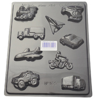 Home Style Chocolates Cars Trucks Planes Chocolate Mould